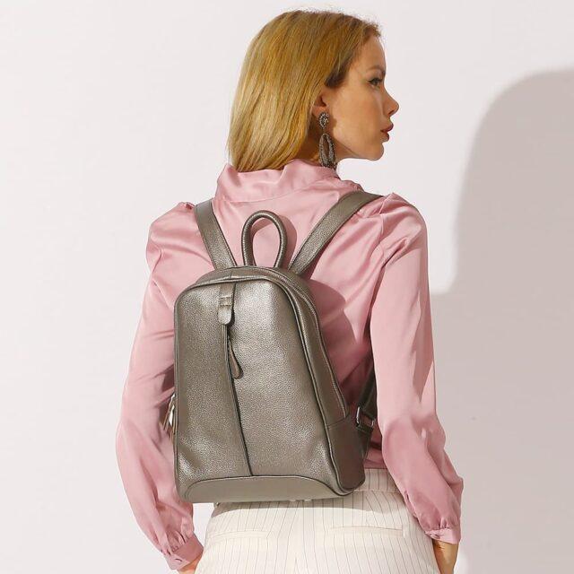 Petit sac à dos cuir femme